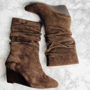 Alex Marie Dana Chocolate Suede Boots 9